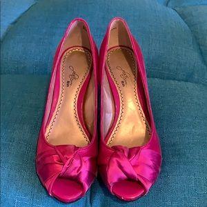 Shoes - Magenta Heels
